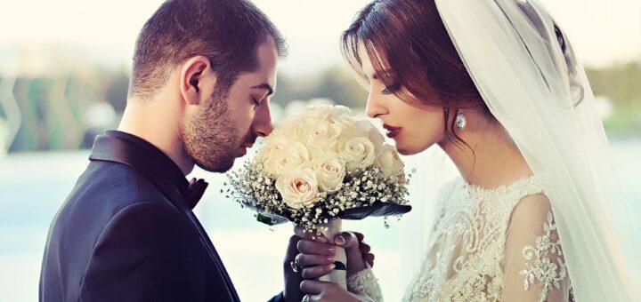 Младоженци, сватба